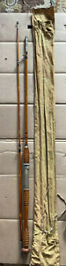 Montague 7 1/2 Ft   2 Pc Bamboo Fishing Rod saltwater  Made in USA