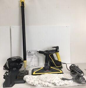 BISSELL 2685A Power Steamer Heavy Duty Mop Handheld Steamer Outdoor Black