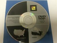 GM Satellite Navigation System CD 15807780 Version 1.10
