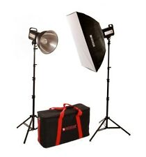 Paterson FL500 Two Head 135 Watt Daylight  Photographic Kit With Carry Case :