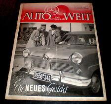 Auto und Motorrad-Welt 02/52 Ford Taunus 12 M,Berini-Motor, Motorrad-Verkleidung