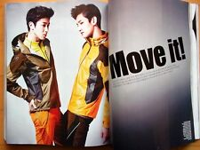TVXQ Yunho Changmin/Cuttings 12p----Magazine Clippings /ELLE Korea/March 2013