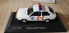 Atlas Verlag :  Volvo 343 Polizei Niederlande sehr selten  1:43 OVP  Ixo