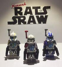 Lego Star Wars minifigures - Custom Clone Troopers ARCs Havoc Blitz & Colt