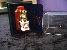 Porcelain Coffee Grinder Non Working Miniature Dollhouse D31 Floral Reutter