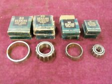 1930-1937 Ford Truck Front Wheel Bearing Set, NOS BB-1201/1202/1216/1217