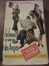 Cheyney: Les Femmes ne sont pas des Anges/ Presses de la Cité Un Mystère N°43