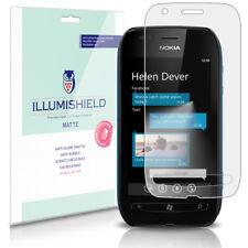 iLLumiShield Matte Screen Protector w Anti-Glare/Print 3x for Nokia Lumia 710