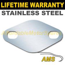 VOLVO S70 V70 S80 2.5 D DIESEL EGR VALVE BLANKING PLATE 1.5MM STAINLESS STEEL ND