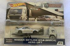 Hot Wheels Car Culture Team Transporter Nissan Skyline (NIP & R2S)