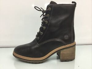 Timberland A24TW Women's  High Waterproof Mid Suede Boots Size 7.5M.✨