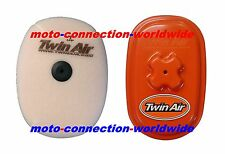 TWIN AIR DUAL STAGE AIR FILTER & AIRBOX WASHING COVER FOR HONDA CRF450 2017