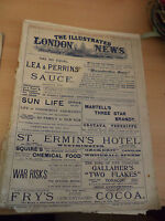 ILLUSTRATED LONDON NEWS OLD ANTIQUE MAGAZINE 1900S 27 JANUARY 1900 boer war