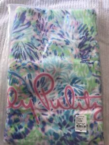 NWT  Lilly Pulitzer GWP Shell Multi Of A Party Beach Towel Free Shipping