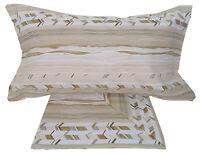Lenzuola in cotone 1 piazza letto singolo in Cotone Ariel beige
