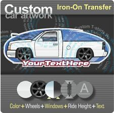 Custom Iron-On Transfer for t-shirt 2003-06 Chevy Silverado 1500 SS Pickup Truck