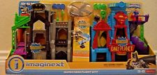 IMAGINEXT DC SUPER FRIENDS SUPER HERO FLIGHT CITY 2 IN 1 DHT62 *NEW*