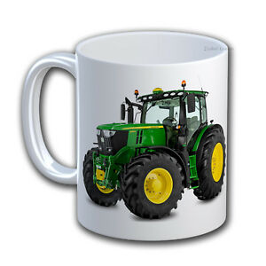 Personalised Farmer Cup Farm Tractor Mug . Customise with your own text. IL744