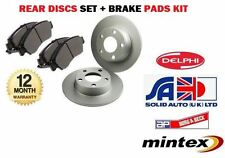 FOR LEXUS IS200 IS300 2.0i 1/1999-12/2005 NEW REAR BRAKE DISCS + DISC PADS SET