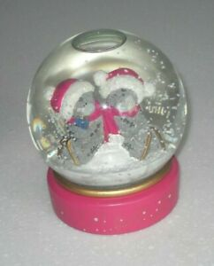 Me to You Bear Tatty Teddy Christmas Large  Glitter Snow Globe Year 2011 VGC