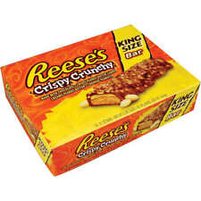 Reese's King Size Candy Bars, Crispy Crunchy, 3.1 oz, 18 ct