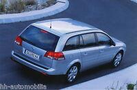 0023OPE Opel Vectra Caravan Pressefoto IAA 2003 21x14 cm Werksfoto int Nr 16