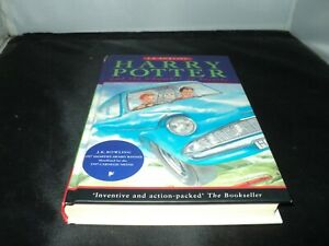 Harry Potter and the chamber of secrets by J. K. Rowling hardback 2nd Print