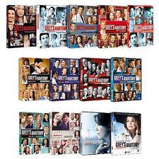 GREY'S ANATOMY - STAGIONI 1-12 (71 DVD) COFANETTI SINGOLI NUOVI ORIGINALI