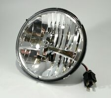 "(1) 7"" Inch LED Headlight Bulb High Power Chrome Dual Function (Premium)"