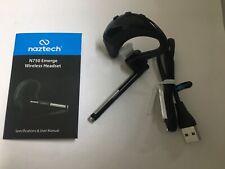 Naztech N750 Emerge Universal Bluetooth Wireless Headset-Voice Prompt &Caller Id