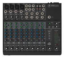 Mackie 1202VLZ4 Kompakt Mixer Mischpult Live Studio Onyx Low Cut Filter Aux