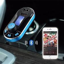 Coche reproductor de audio MP3 Bluetooth Transmisor Fm Con Control Remoto Inalámbrico Aux