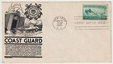 1945 USA FDC - United States Coast Guard - 3 Cent Stamp