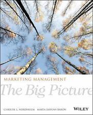 Marketing Management: The Big Picture, 1E by Nordhielm  Paperback