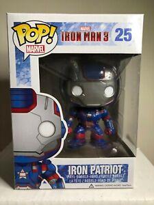 Funko Pop! #25 Iron Man 3 Iron Patriot Vaulted