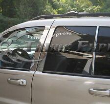 2007-2009 Chrysler Aspen 6Pc Chrome Pillar Post Trim Stainless Steel