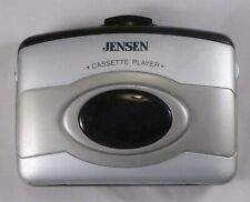 Vintage Jensen SC-6 Cassette Player with Bass Boost and Belt Clip EXC Tested