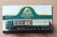 Modellino autocarro per birra Rimorchio trasporto MAN Kapuziner FRUMENTO HS 16