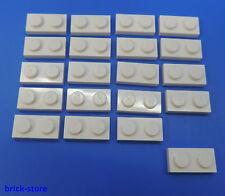 LEGO® Nr.- 302301 / 1x2 Platte weiß / 20 Stück