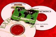 + 3 Useful Bonus CDs! ROLAND WORLD Expansion ROM Board SR-JV80 05 JV SV