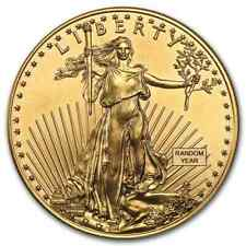 1 oz Gold American Eagle $50 Coin BU - Random Year US Mint