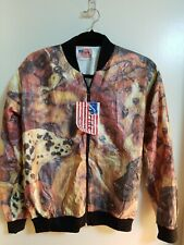 Pride products INC Dog animal print paper jacket S NWT