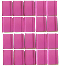 Hardcover Pink Notebook Journal 96 Pages Small 4 x 3 Ruled Bulk Lot 20