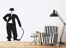 Vinyl Decal Wall Sticker Movie Making Cinema Charlie Chaplin Decoration (n302)
