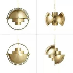 Modern Multi Lite Pendant Lamp Metall Ball Chandelier Ceiling Lighting Fixture