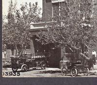Lamar Colorado 1911 Fire Station Firetruck City Hall Williamson-Haffner PostCard