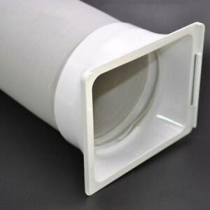 15cm Square Portable Air Conditioning Body Exhaust Duct Interface Pipe Connector