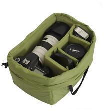 Nylon Waterproof DSLR SLR Camera Lens Partition Padded Storage Bag Handbag Case