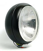 CIBIE SPOT LIGHTS SUPER OSCAR DRIVE LAMP 220mm BLACK STEEL BODY WITH CIBIE COVER