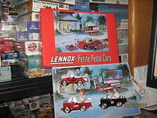Lennox Petite Pedal Cars- 3 Car Set-1/12 Scale-FREE SHIPPING